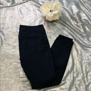 Dark blue leggings jeans